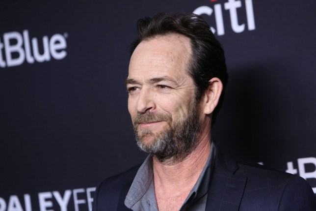 Mandatory Credit: Photo by David Buchan/REX/Shutterstock (9476162ba) Luke Perry 'Riverdale' TV show presentation, Arrivals, Paleyfest, Los Angeles, USA - 25 Mar 2018