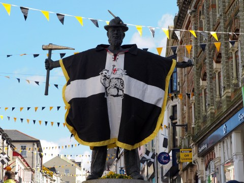 How to say Happy St Piran's Day in Cornish to mark the special day
