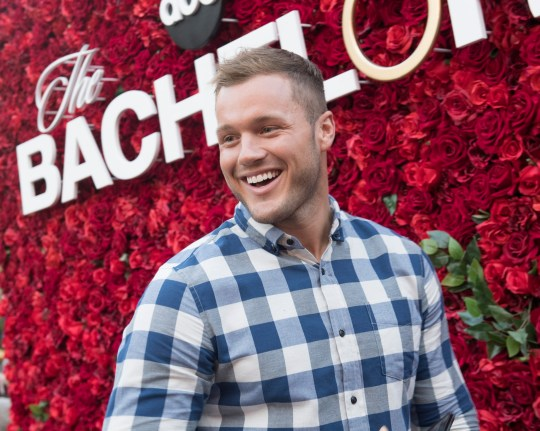 THE BACHELOR - Will you accept this rose? In celebration of tonights premiere of The Bachelor on ABC, thousands of guests visiting The Grove in Los Angeles over the weekend posed for photos at a gorgeous show-inspired rose wall installation. Over ten thousand long stem roses were also distributed throughout the upscale shopping destination. Bachelor Colton Underwood made a surprise appearance at the rose wall, delighting a swarm of unsuspecting fans waiting to take their photo. Other Bachelor Nation alumni also made appearances throughout the weekend, including Wells Adams, Eric Bigger, Wills Reid, Krystal Nielson, Chris Randone, Jade and Tanner Tolbert, and Annaliese Puccini. Be sure to watch Coltons journey for love unfold, starting tonight at 8|7c on ABC. (Aaron Poole via Getty Images)COLTON UNDERWOOD