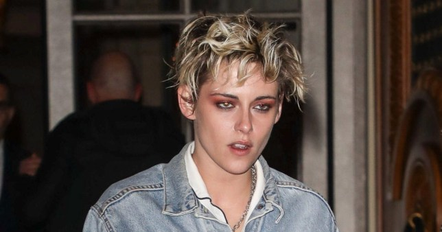 BGUK_1508341 - ** RIGHTS: ONLY UNITED KINGDOM ** Paris, FRANCE - Celebrities arrive at the Louis Vuitton after party at the Crillon hotel in Paris Pictured: Kristen Stewart BACKGRID UK 5 MARCH 2019 BYLINE MUST READ: BEST IMAGE / BACKGRID UK: +44 208 344 2007 / uksales@backgrid.com USA: +1 310 798 9111 / usasales@backgrid.com *UK Clients - Pictures Containing Children Please Pixelate Face Prior To Publication*