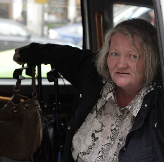 Champion News: 07948286566/07914583378 news@championnews.co.uk Picture shows Sandra Shelbourne outside London's High Court.