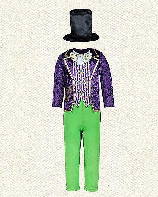 Tesco World Book Day Willa Wonka Costume