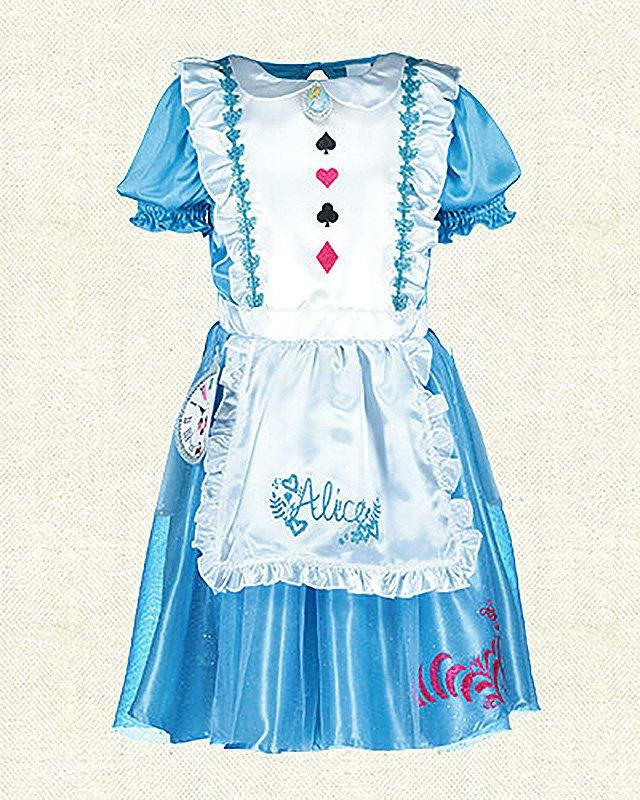 Girlsu0027 Alice In Wonderland Costume £14 From Tesco