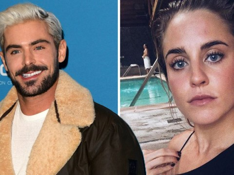 Zac Efron 'dating' Olympic swimmer Sarah Bro as two spotted side-by-side at UFC fight