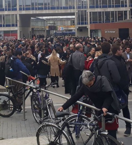 Essex uni suspicious package Carolina Garriga @Caro_Garriga 31m31 minutes ago More Evacuation at University of Essex https://twitter.com/Caro_Garriga/status/1103297760311164928