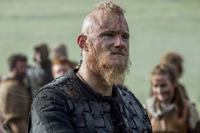 Vikings star Alexander Ludwig has definitely moved on from Bjorn in new photo Credit: World 2000 Entertainment