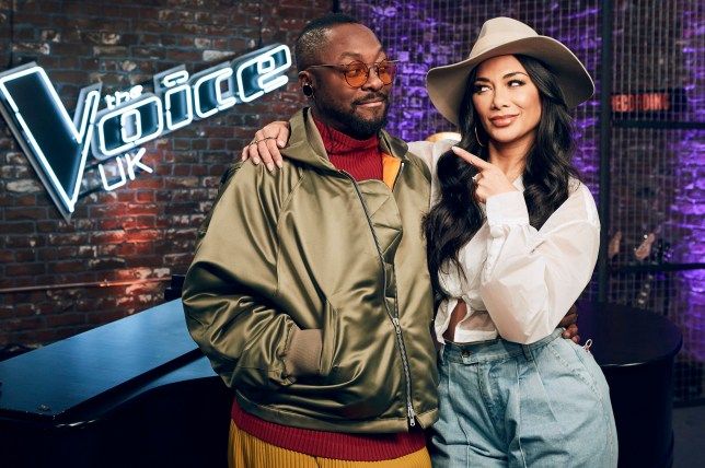 This image is strictly embargoed until 00.01 Thursday 7th March 2019 From ITV Studios The Voice UK: SR3 Ep11 on ITV Pictured: will.i.am and guest mentor Nicole Scherzinger. This photograph is (C) ITV Plc and can only be reproduced for editorial purposes directly in connection with the programme or event mentioned above, or ITV plc. Once made available by ITV plc Picture Desk, this photograph can be reproduced once only up until the transmission [TX] date and no reproduction fee will be charged. Any subsequent usage may incur a fee. This photograph must not be manipulated [excluding basic cropping] in a manner which alters the visual appearance of the person photographed deemed detrimental or inappropriate by ITV plc Picture Desk. This photograph must not be syndicated to any other company, publication or website, or permanently archived, without the express written permission of ITV Picture Desk. Full Terms and conditions are available on the website www.itv.com/presscentre/itvpictures/terms For further information please contact: james.hilder@itv.com / 0207 157 3052