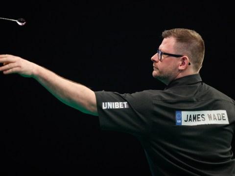 Watch James Wade hit 9-darter but still lose German Darts Championship match