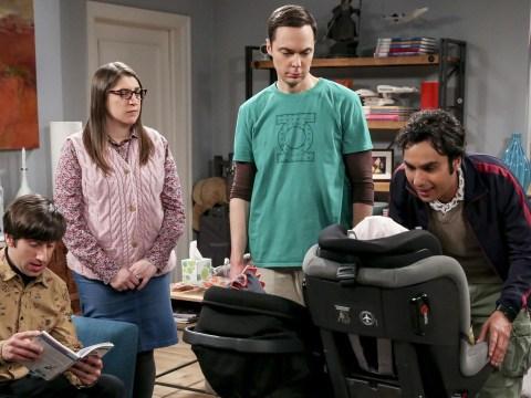 The Big Bang Theory's Mayim Bialik reveals creepy behind-the-scenes photo of Howard Wolowitz's baby