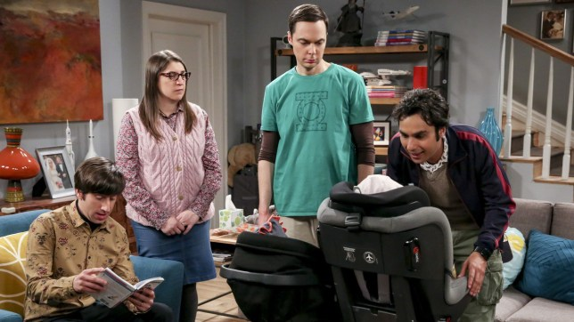 Are The Big Bang Theory lining up a baby for Amy and Sheldon? Credit: Warner Bros