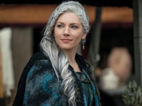 Vikings star Katheryn Winnick is fuelling some serious season 6 hype with a sneak-peek: 'Who's missing Vikings?'