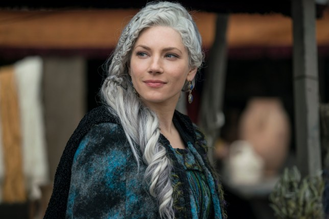 Katheryn Winnick as Queen Lagertha in Vikings