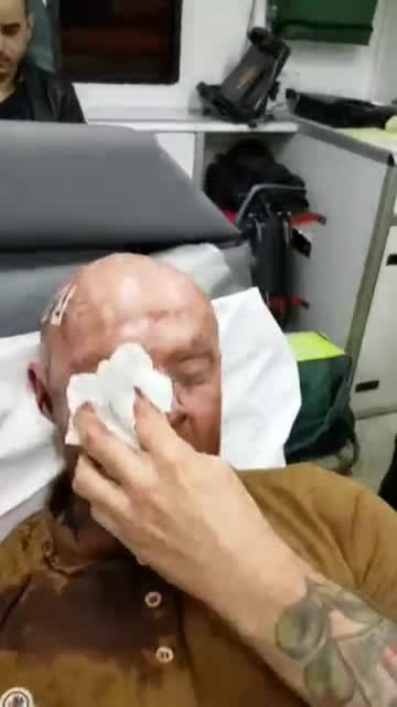 Man sauffers horrific injuries after defending friend from racial and homophobic abuse in the Gay Village Picture: Neil Ruth METROGRAB https://www.facebook.com/neil.ruth.5/videos/10156209480626404/