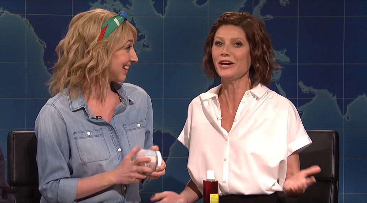 Gwyneth Paltrow pokes fun herself as wacky Goop employee as she calls salt 'angry sugar'