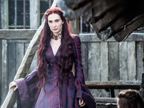 What did Melisandre say to Arya Stark when they first met in Game of Thrones?