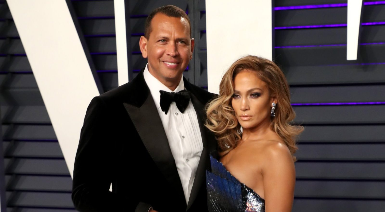 Mandatory Credit: Photo by Chelsea Lauren/REX/Shutterstock (10112927ii) Alex Rodriguez and Jennifer Lopez Vanity Fair Oscar Party, Arrivals, Los Angeles, USA - 24 Feb 2019