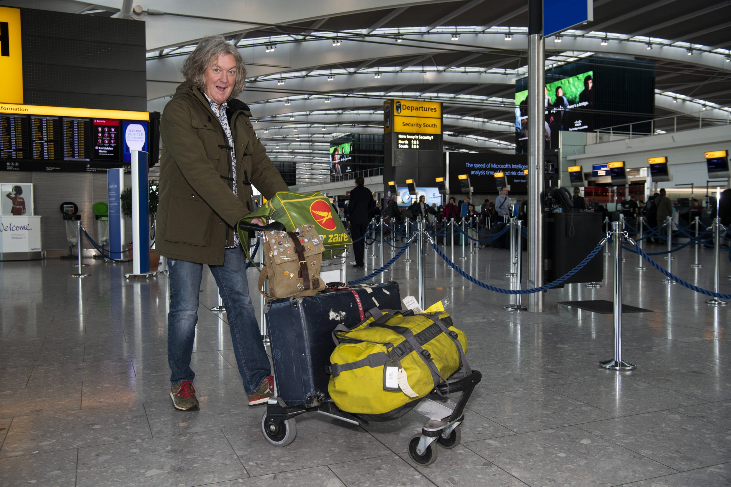 james may in our man in...japan
