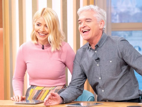 Where is Holly Willoughby as Rylan Clark-Neal presents This Morning with Phillip Schofield?