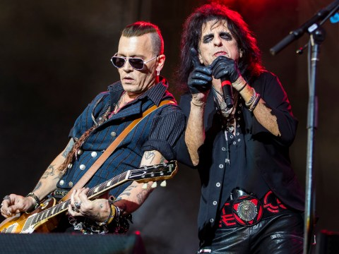 Alice Cooper defends bandmate Johnny Depp over addiction and abuse claims and says he's 'never looked better'