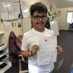 METRO GRAB TWITTER Adorable letter from boy, 10, to CEO or Qantas asking how to set up airline Qantas ??? Verified account @Qantas Follow Follow @Qantas More Our competitors don't normally ask us for advice, but when an airline leader reached out, we couldn't ignore it. Naturally, there was only one way to respond: CEO to CEO. https://twitter.com/Qantas/status/1104924677175169026