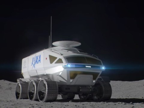 Japan is sending a Toyota to the moon