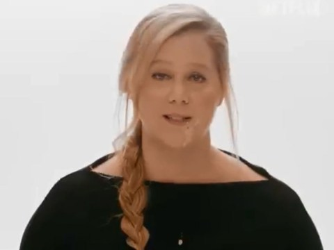 Amy Schumer throws up on camera as she plans to be more 'dignified' for Netflix special