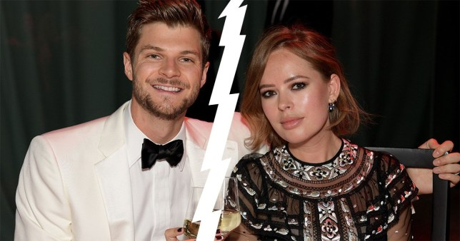 Mandatory Credit: Photo by Richard Young/REX/Shutterstock (9865647ab) Jim Chapman and Tanya Burr GQ Men of the Year Awards, Dinner and Awards, Tate Modern, London, UK - 05 Sep 2018
