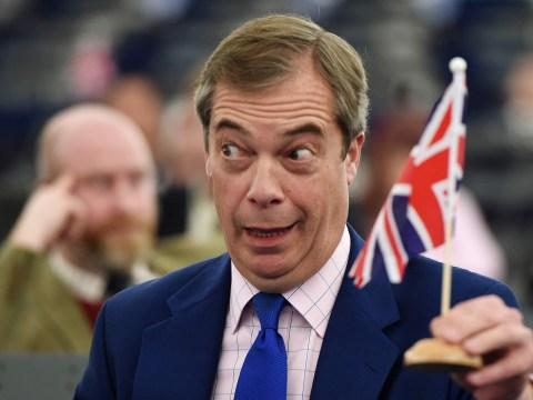In weird Brexit twist Nigel Farage begs EU to overrule UK sovereignty