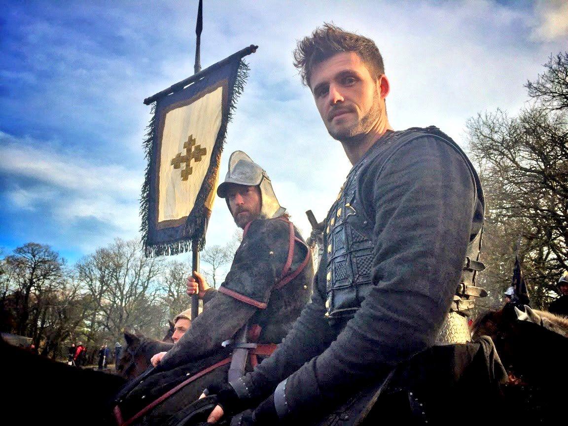 Adam Behan, stunt man, Vikings (Picture: Adam Behan)