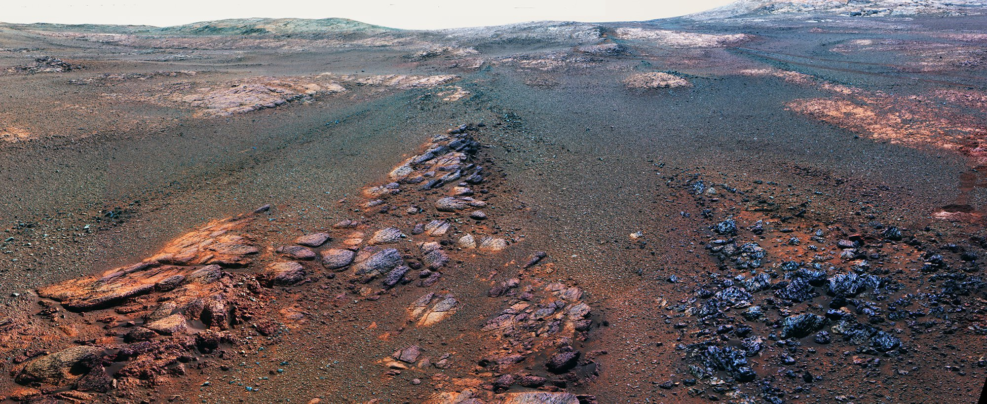 This is the last picture of Mars taken by Nasa's Opportunity rover