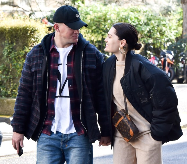 Channing Tatum and Jessie J are seen hand in hand in London, after touching down in london yesterday Jesse and Channing were seen walking around central london together. 14 Mar 2019 Pictured: Channing Tatum , Jessie J. Photo credit: Neil Warner/MEGA TheMegaAgency.com +1 888 505 6342