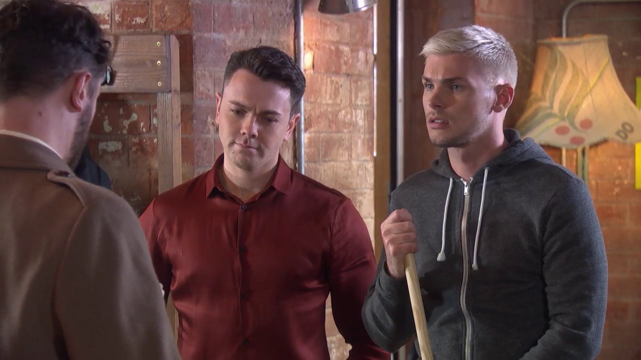 Ste is caught in a terrible situation - will he tell the truth?