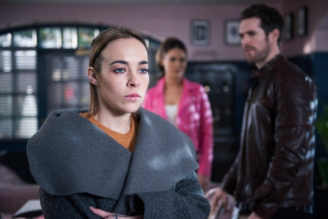 LIBERTY CONFRONTS SINEAD OVER HER KISS WITH SAMI EMBARGOED UNTIL 26 MARCH