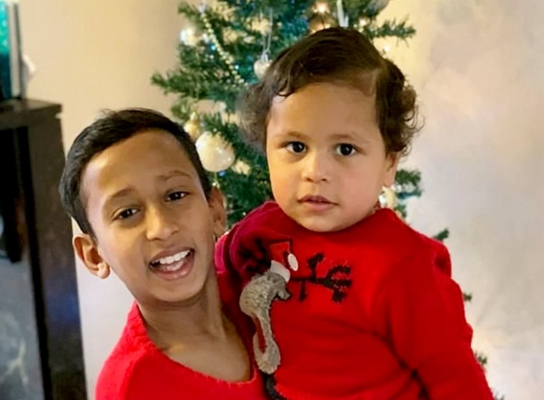 (L-R) Sanjay (10) and Pawanveer (23 months) Singh, who died in the car crash on the junction of Lawnswood Avenue and Birmingham New Road in Wolverhampton. March 15, 2019. The driver of a ??200,000 Bentley supercar was arrested in the early hours of today (Fri) after two young boys were killed in a horror crash. See SWNS story SWMDcrash. A ten-year-old boy and his brother, aged 23 months, were in a BMW being driven by their mother when it collided with an Audi S3. It is believed the Audi may have been racing a white Bentley Continental convertible when it jumped a red light and ploughed into the BMW at 8.45pm on Thursday (14/3). Police are hunting the blue Audi and arrested a 31-year-old man driving the Bentley on suspicion of causing death by dangerous driving. Police and ambulance crews dashed to the junction of Lawnswood Avenue and Birmingham New Road in Wolverhampton at 8.45pm on Thursday (14/3). The boys were pronounced dead at the scene while their mother was rushed to hospital with serious injuries. The road was closed for seven hours while West Midlands Police officers scoured the scene for clues before it re-opened at 3.40am.