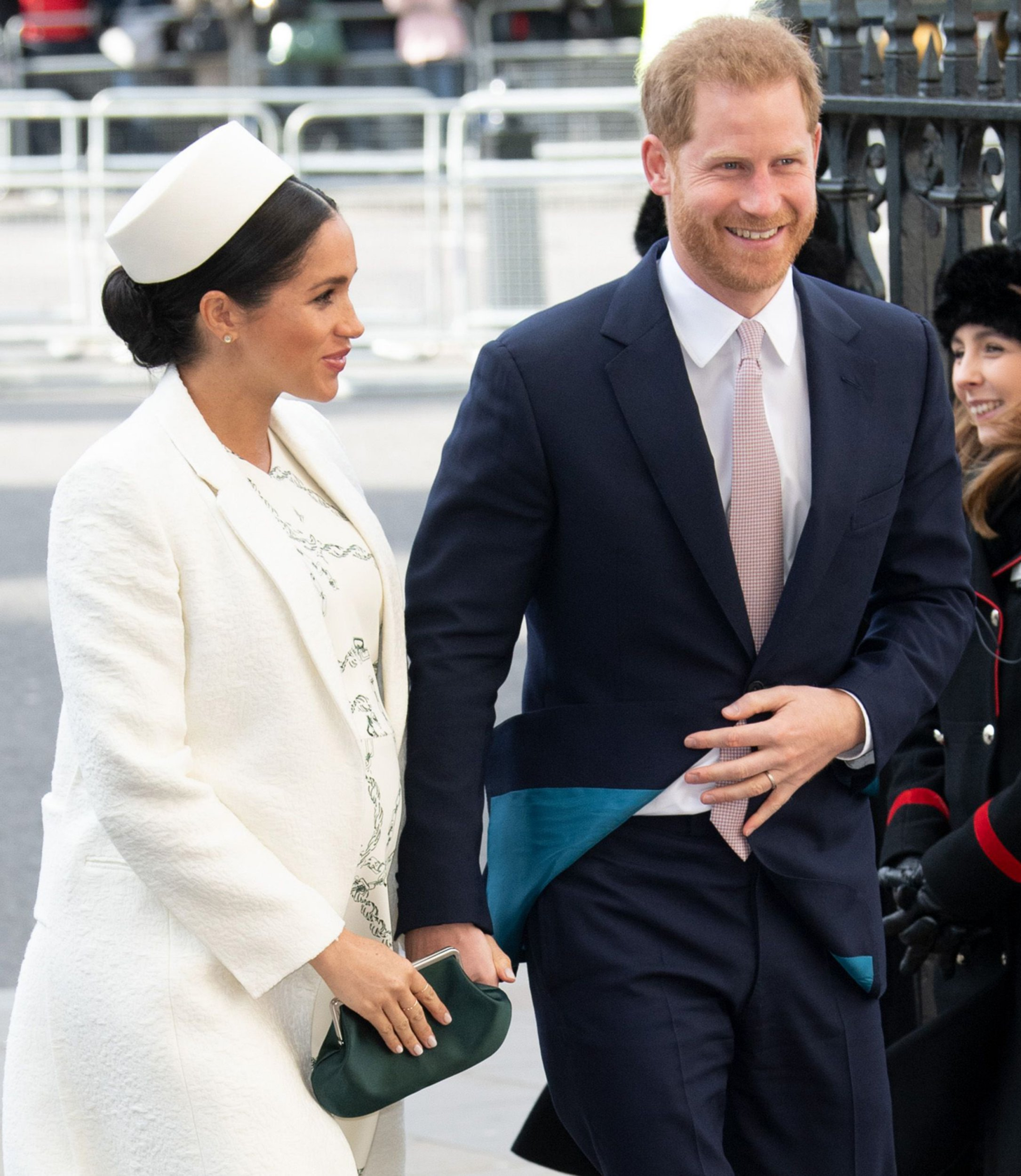 Prince Harry, Duke of Sussex and Meghan, Duchess of Sussex attend the Commonwealth Day service at Westminster Abbey Pictured: Prince Harry,Meghan Markle Ref: SPL5072825 130319 NON-EXCLUSIVE Picture by: ENT / SplashNews.com Splash News and Pictures Los Angeles: 310-821-2666 New York: 212-619-2666 London: 0207 644 7656 Milan: 02 4399 8577 photodesk@splashnews.com World Rights,