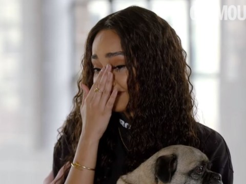 Little Mix's Leigh-Anne Pinnock breaks down in tears over online abuse