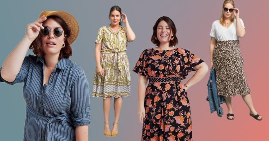 89f336bcc7f0 Anthropologie launches 120-piece plus size range and it's glorious ...