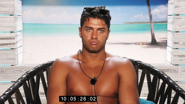 Editorial use only Mandatory Credit: Photo by ITV/REX/Shutterstock (8874351am) Mike Thalassitis in beach hut - Series 3, Episode 16 'Love Island' TV show, Mallorca, Spain - 20 Jun 2017