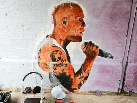 Keith Flint remembered as stunning mural is commissioned in Southend