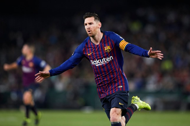 1742679b0c6 Lionel Messi breaks Xavi s Barcelona club record with stunning hat-trick