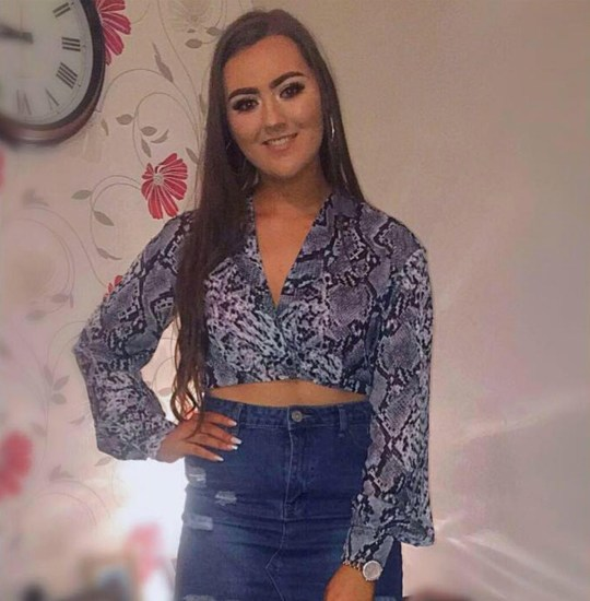 Metro GRab - taken from Lauren Bullock open FacebookCheerleader named as one of the victims of Northern Ireland St Patrick's Day stampedehttps://www.facebook.com/profile.php?id=100006184786471No credit