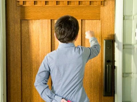 Boy, 9, went door-to-door giving his parents' savings away to strangers