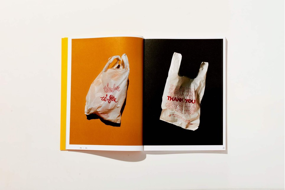 Plastic Paper is a book about a mundane object and that plays host to a range of iconic designs, strewn about the landscape of New York City.