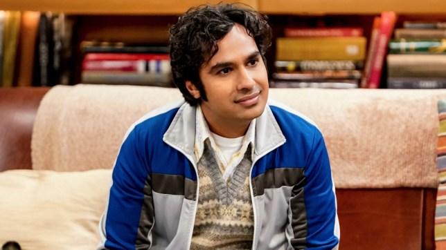 "Rajesh Ramayan ""Raj"" Koothrappali, Ph.D. character on the CBS television series The Big Bang Theory, portrayed by British Indian actor Kunal Nayyar SEASON 12 EPISODE 8"