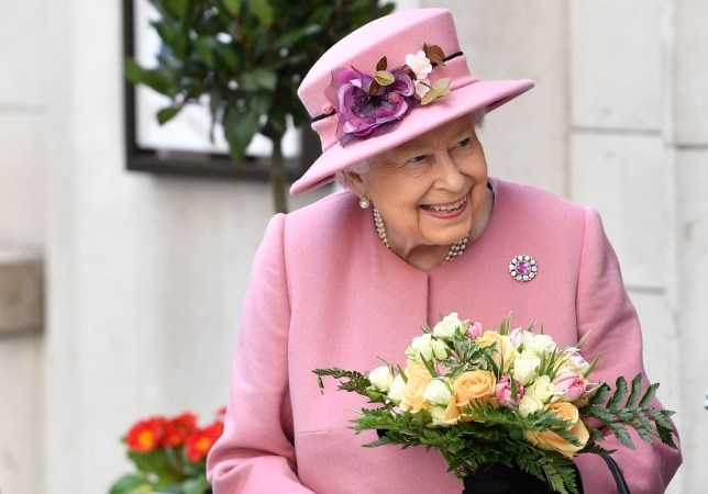 Queen Elizabeth (pictured) is celebrating her 93rd birthday today