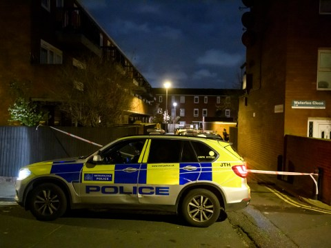 Man shot by police after slashing cop with a knife