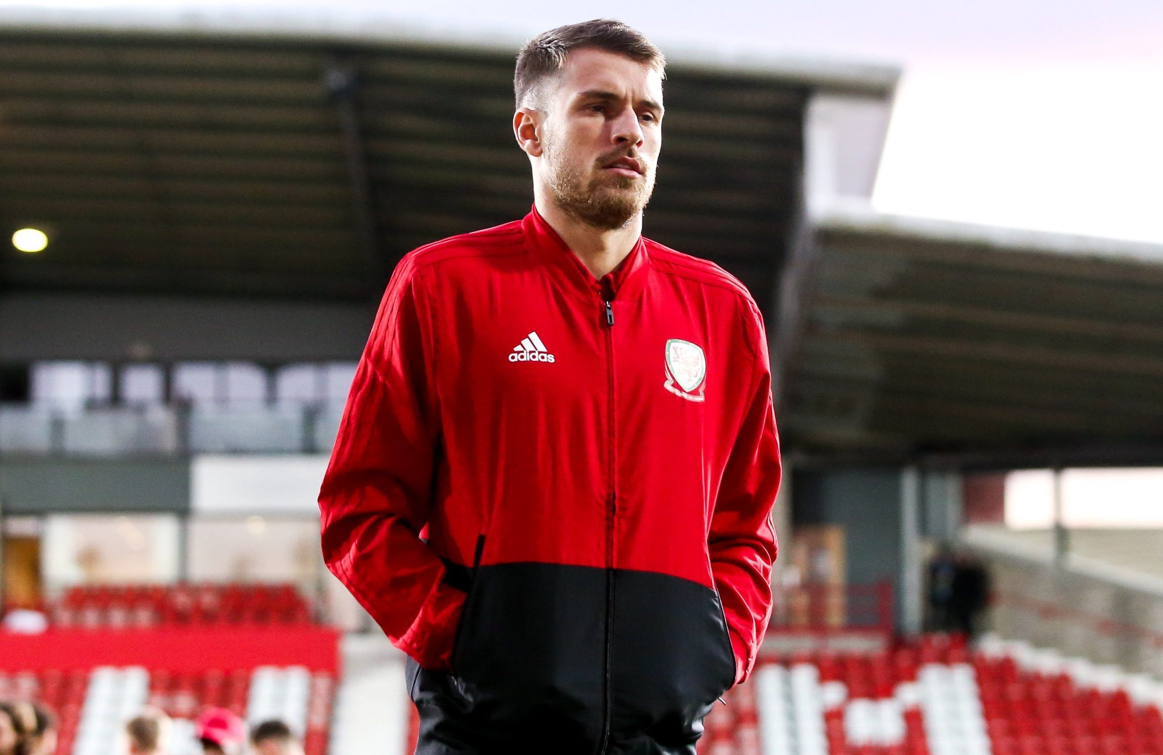 Aaron Ramsey returns to Arsenal for treatment on thigh injury