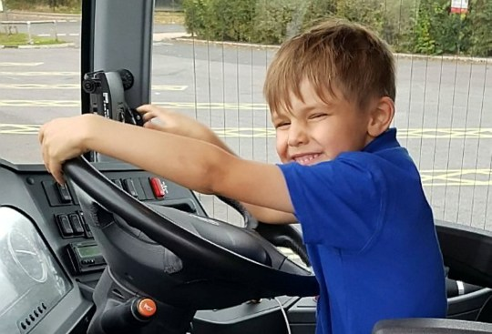 Police hand out picture of five-year-old Alex Clarke who tragically died in hospital after suffering burns from a house fire. See SWNS SWLEfire - Inquest into the death of a five-year-old boy who suffered serious burns and later died after a blaze broke out in an upstairs bedroom at his home.