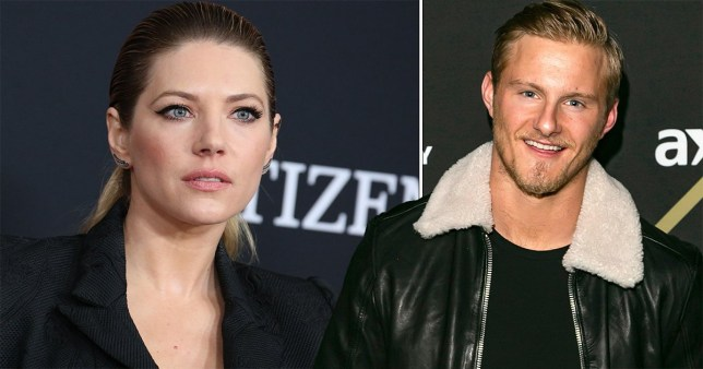 Vikings star Alexander Ludwig thanks Katheryn Winnick for supporting fight against addiction picture: rex