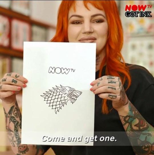 Fancy getting a free GOT tattoo? Provider: Now TV Source: https://www.nowtv.com/gotink